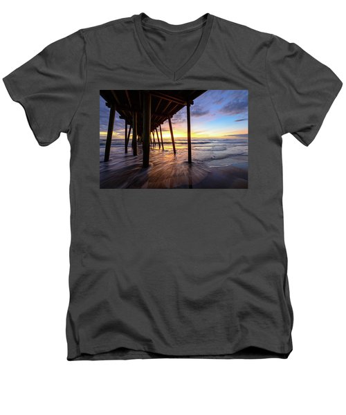 The Enchanted Pier Men's V-Neck T-Shirt