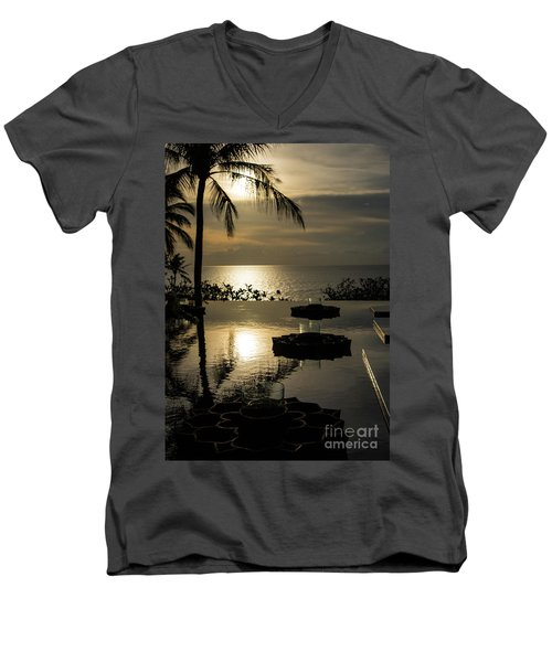 The End Of The Day Men's V-Neck T-Shirt