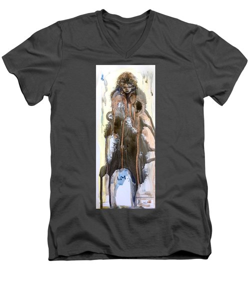 The End Of The Tears Men's V-Neck T-Shirt