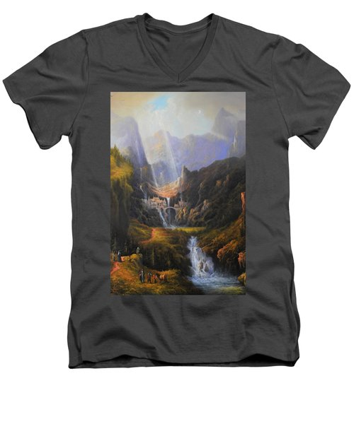 The Epic Journey Men's V-Neck T-Shirt