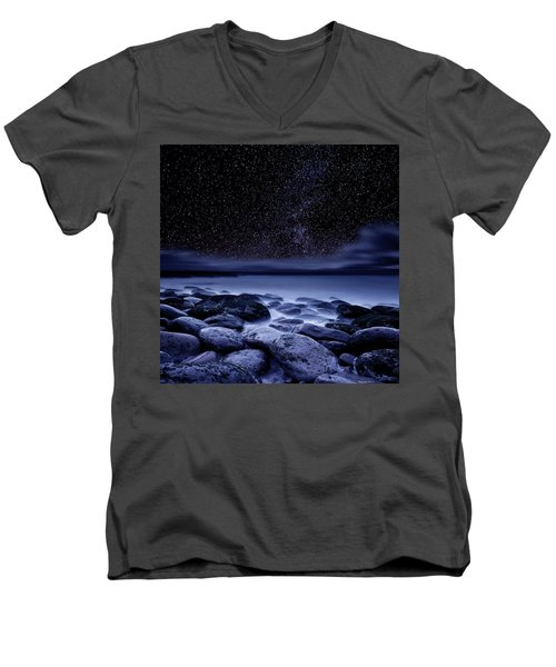 Men's V-Neck T-Shirt featuring the photograph The Essence Of Everything by Jorge Maia