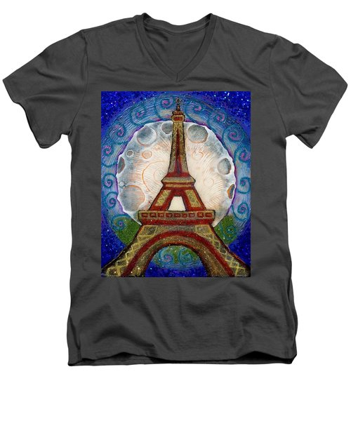The Evening Of A Ready-wish Upon A Parisian High Point Men's V-Neck T-Shirt