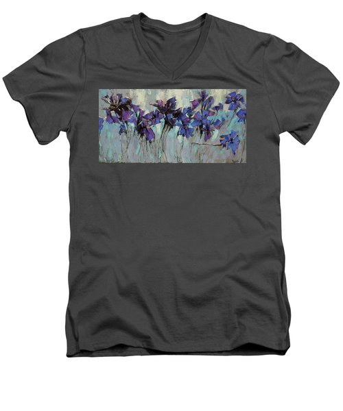 The Evening Was Silver. Men's V-Neck T-Shirt
