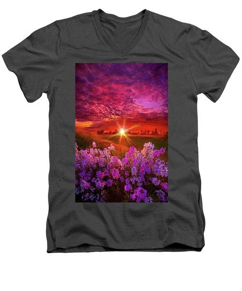 The Everlasting Men's V-Neck T-Shirt