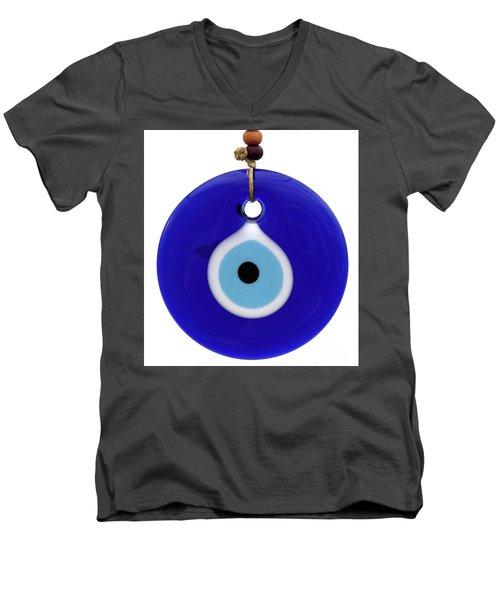 The Eye Against Evil Eye Men's V-Neck T-Shirt