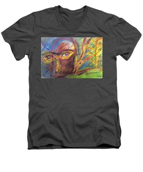 The Eye Men's V-Neck T-Shirt