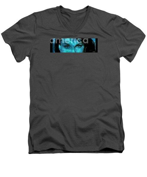 The Eyes Have It Men's V-Neck T-Shirt