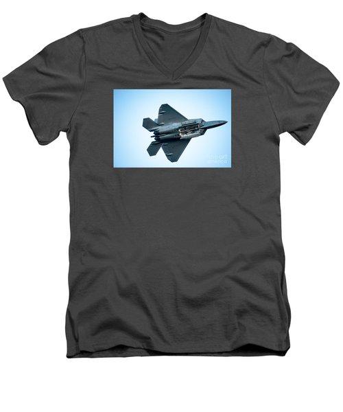 The F22 Raptor Men's V-Neck T-Shirt