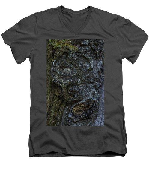 The Face Men's V-Neck T-Shirt