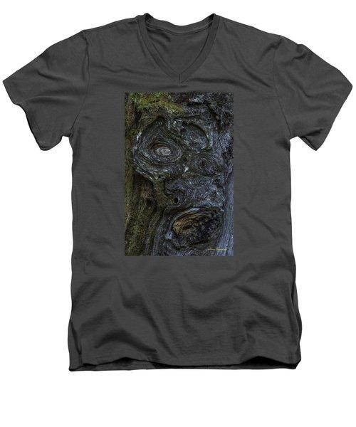 The Face Signed Men's V-Neck T-Shirt