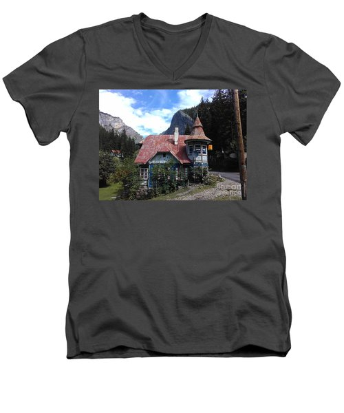 The Fairy Tale House  Men's V-Neck T-Shirt