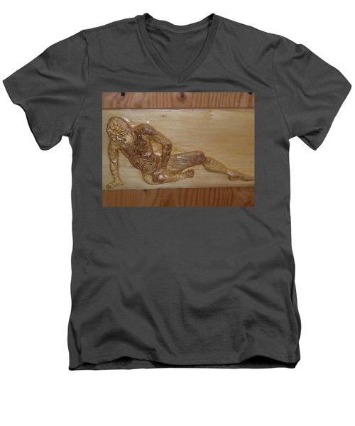 The Fallen Soldier Men's V-Neck T-Shirt