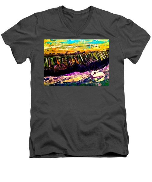 The Far Shore Men's V-Neck T-Shirt