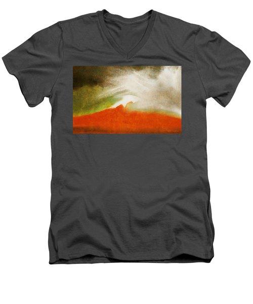 The Fire Mountain - Cotapaxi Men's V-Neck T-Shirt