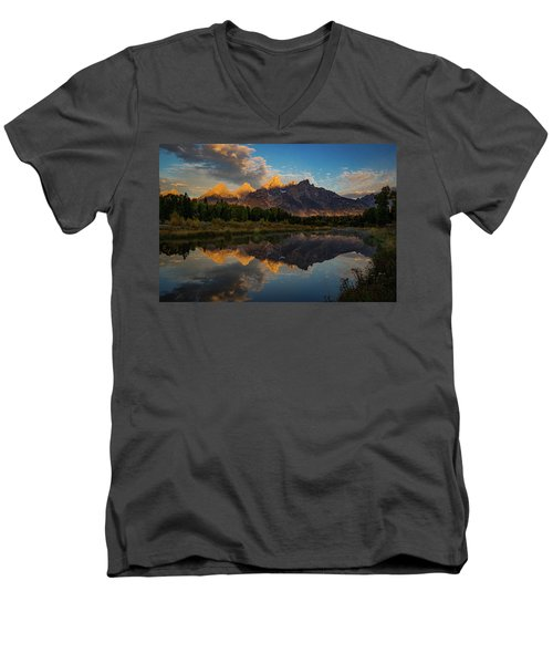 The First Light Men's V-Neck T-Shirt