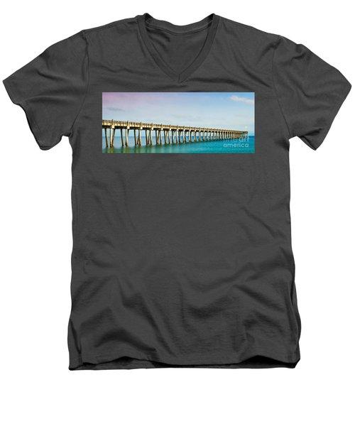 The Fishing Pier Men's V-Neck T-Shirt