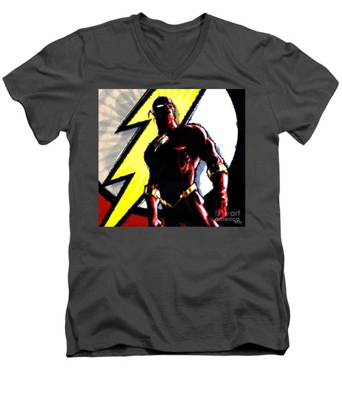 The Flash Men's V-Neck T-Shirt