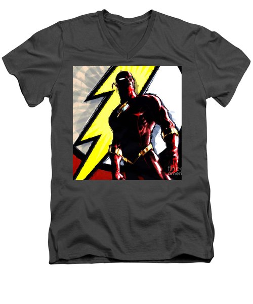 The Flash Men's V-Neck T-Shirt