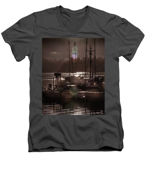 The Fleet Men's V-Neck T-Shirt