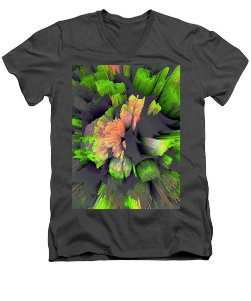 The Flower Factory 2 Men's V-Neck T-Shirt