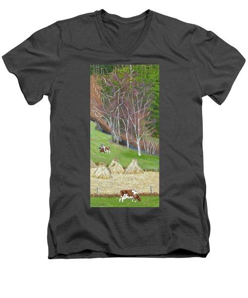 The Fodder's In The Shock Men's V-Neck T-Shirt