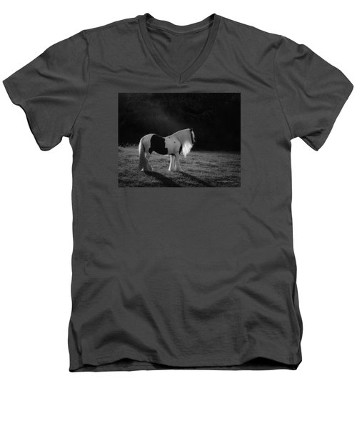 The Forest Moonlight Men's V-Neck T-Shirt
