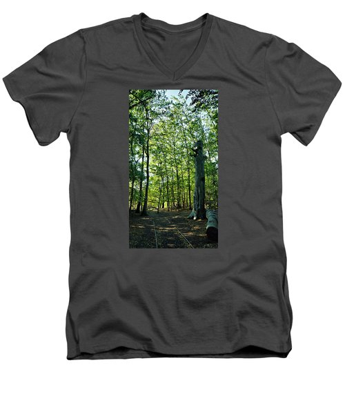 The Forest Men's V-Neck T-Shirt
