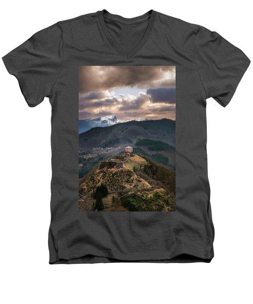The Fortress Men's V-Neck T-Shirt