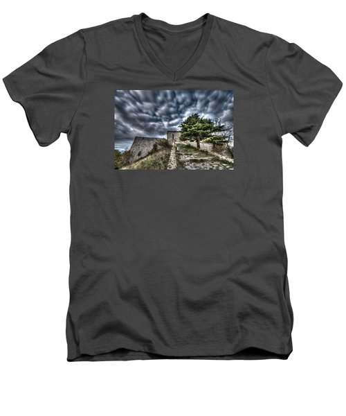 The Fortress The Tree The Clouds Men's V-Neck T-Shirt