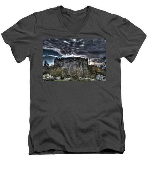 The Fortress The Trees The Clouds Men's V-Neck T-Shirt