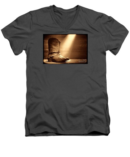 The Found Boots Men's V-Neck T-Shirt