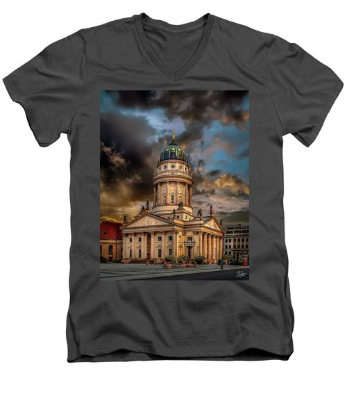 The French Church 3 Men's V-Neck T-Shirt