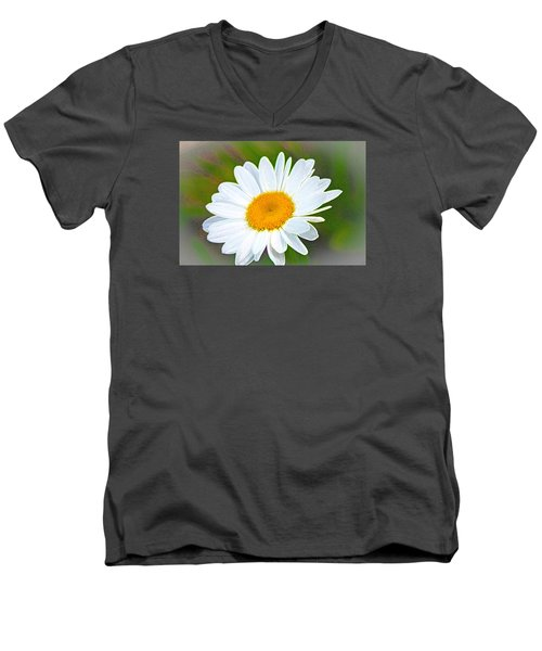 The Friendliest Flower Men's V-Neck T-Shirt