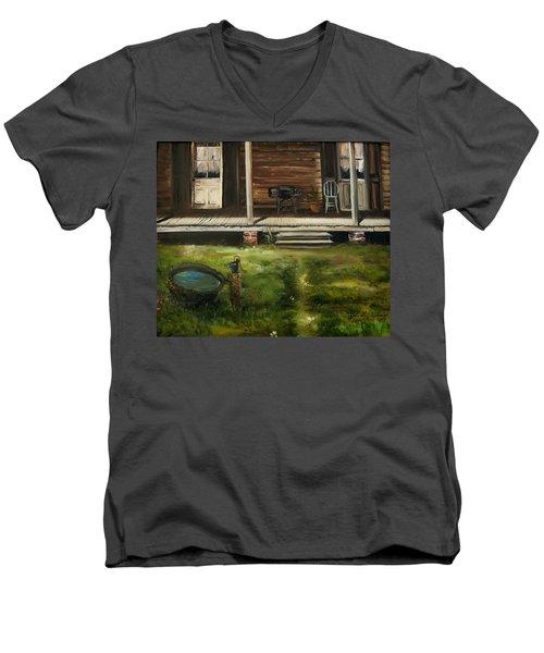 The Front Porch Men's V-Neck T-Shirt