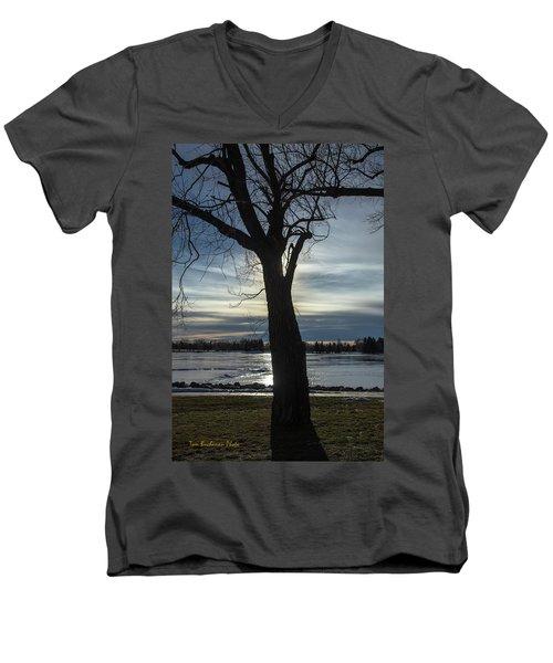 The Frozen Sun Men's V-Neck T-Shirt