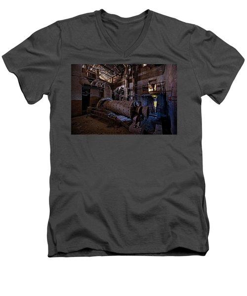 The Furnace And The Rocket 2  La Fornace E Il Razzo 2 Men's V-Neck T-Shirt