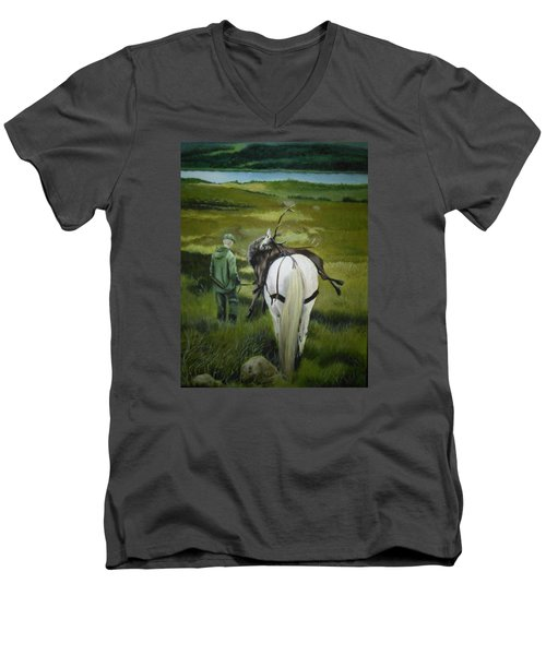 The Gamekeeper Men's V-Neck T-Shirt
