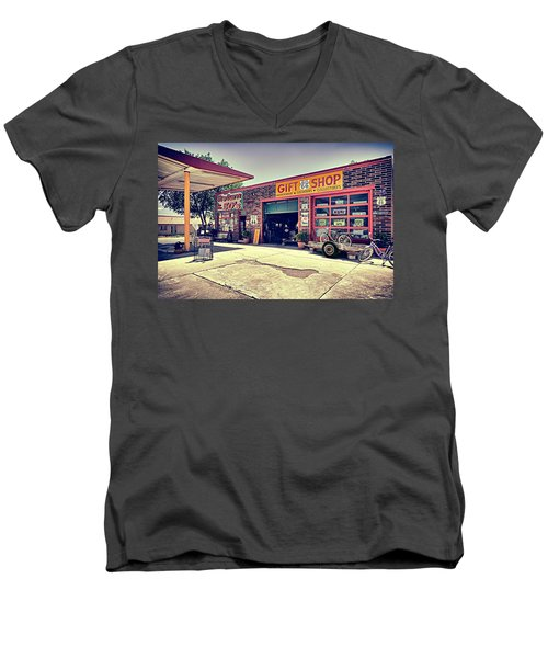 The Garage Men's V-Neck T-Shirt