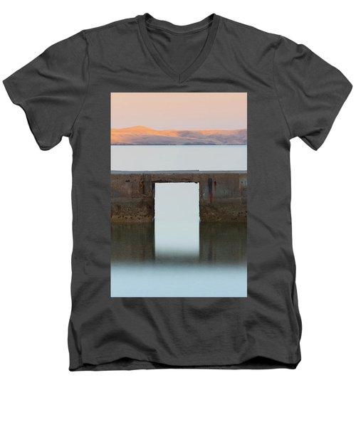 The Gate Of Freedom Men's V-Neck T-Shirt