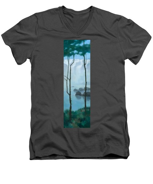 The Gathering Iguazu Falls Men's V-Neck T-Shirt
