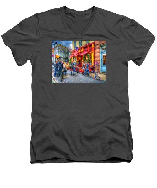The Gathering Spot Men's V-Neck T-Shirt