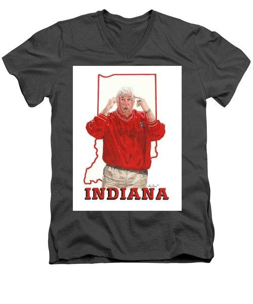 The General Bob Knight Men's V-Neck T-Shirt
