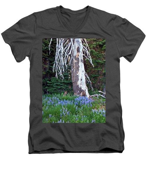 The Ghost Tree Men's V-Neck T-Shirt
