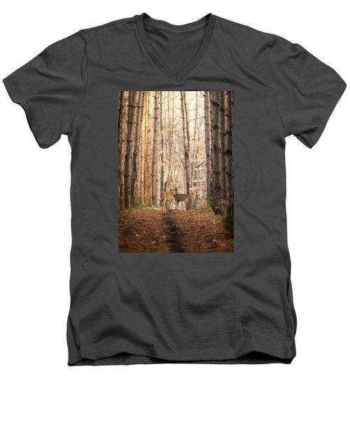 The Gift Men's V-Neck T-Shirt by Everet Regal