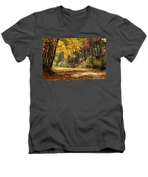The Gilding Men's V-Neck T-Shirt