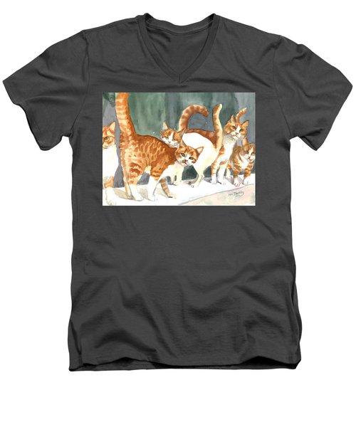 The Ginger Gang Men's V-Neck T-Shirt