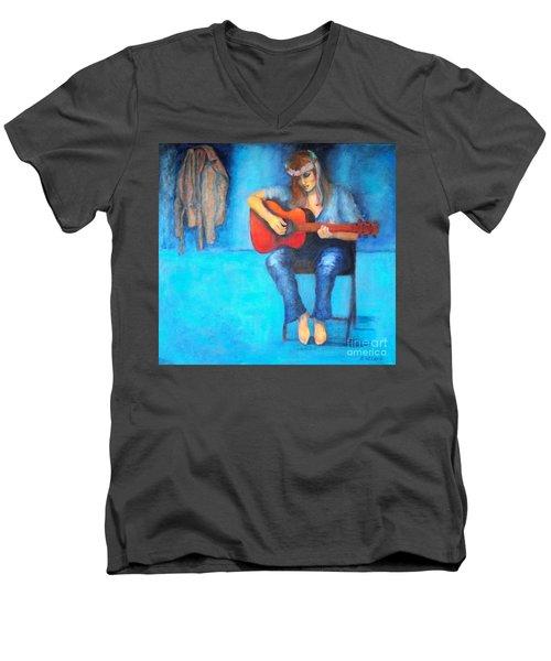 Music In The Alhambra Men's V-Neck T-Shirt