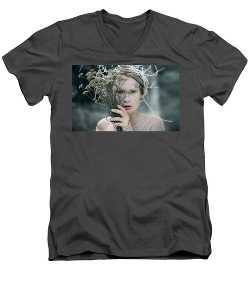 The Glance. Prickle Tenderness Men's V-Neck T-Shirt