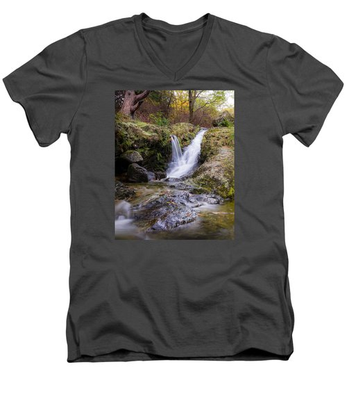 The Glen River Falls Men's V-Neck T-Shirt