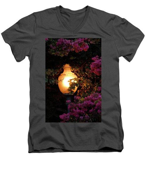 The Glow Men's V-Neck T-Shirt